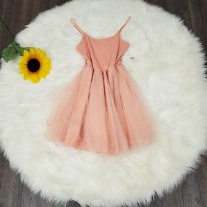 FREE JEWELRY Prom Dress NEW NWT Dusty Rose Pink